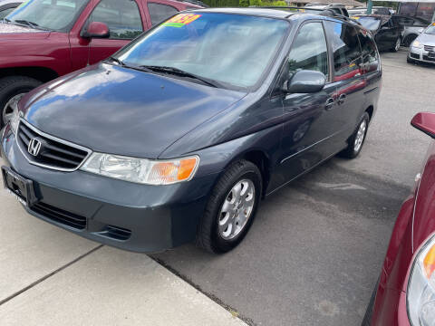 2004 Honda Odyssey for sale at Low Auto Sales in Sedro Woolley WA