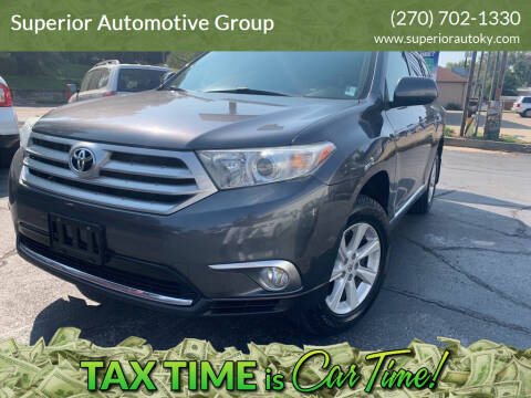 2012 Toyota Highlander for sale at Superior Automotive Group in Owensboro KY