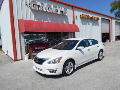 2015 Nissan Altima for sale at Gagel's Auto Sales in Gibsonton FL