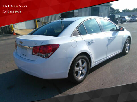 2012 Chevrolet Cruze for sale at L&T Auto Sales in Three Rivers MI