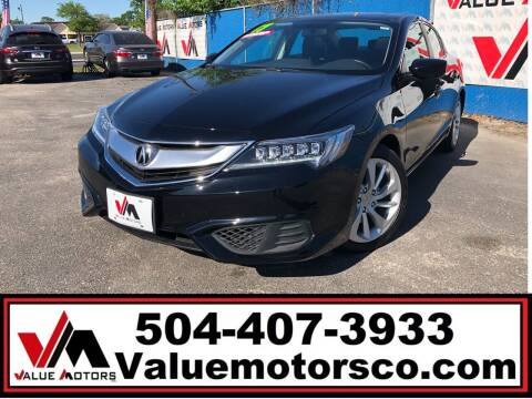 2017 Acura ILX for sale at Value Motors Company in Marrero LA