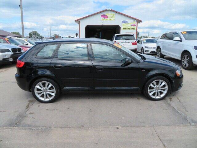 2012 Audi A3 for sale at Jefferson St Motors in Waterloo IA