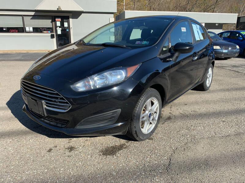 2017 Ford Fiesta for sale at B & P Motors LTD in Glenshaw PA