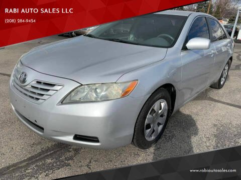 2008 Toyota Camry for sale at RABI AUTO SALES LLC in Garden City ID