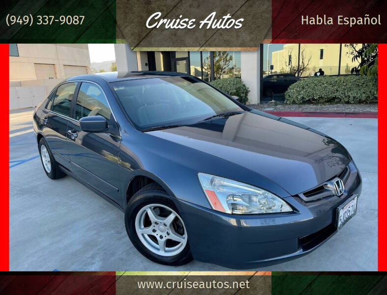 2004 Honda Accord for sale at Cruise Autos in Corona CA