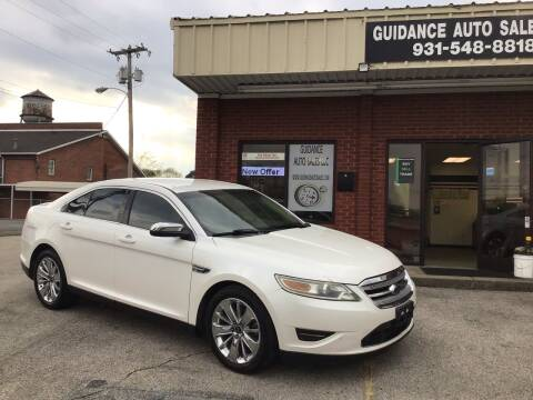 2010 Ford Taurus for sale at Guidance Auto Sales LLC in Columbia TN
