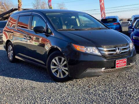 2017 Honda Odyssey for sale at A&M Auto Sales in Edgewood MD