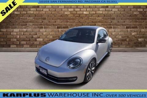 2012 Volkswagen Beetle for sale at Karplus Warehouse in Pacoima CA