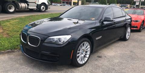 2013 BMW 7 Series for sale at PIONEER USED AUTOS & RV SALES in Lavalette WV