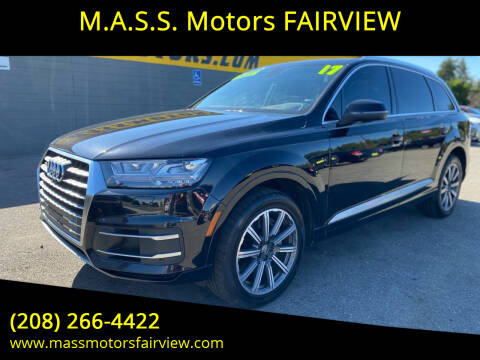 2017 Audi Q7 for sale at M.A.S.S. Motors - Fairview in Boise ID