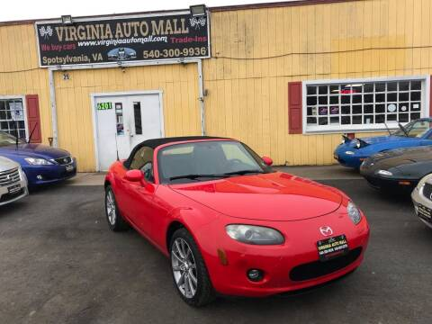2007 Mazda MX-5 Miata for sale at Virginia Auto Mall in Woodford VA
