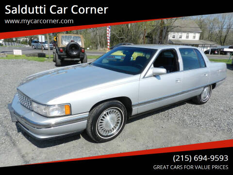 1994 Cadillac DeVille for sale at Saldutti Car Corner in Gilbertsville PA