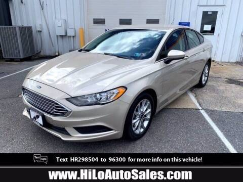 2017 Ford Fusion for sale at Hi-Lo Auto Sales in Frederick MD