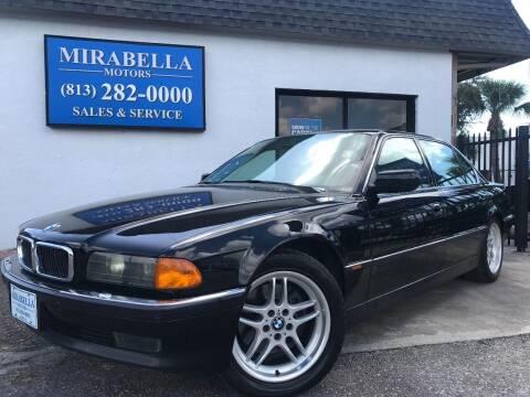 1998 BMW 7 Series for sale at Mirabella Motors in Tampa FL
