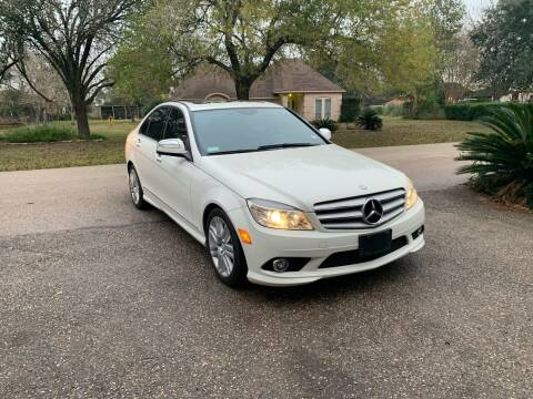 2008 Mercedes-Benz C-Class for sale at CARWIN MOTORS in Katy TX
