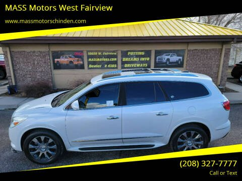 2017 Buick Enclave for sale at MASS Motors West Fairview in Boise ID