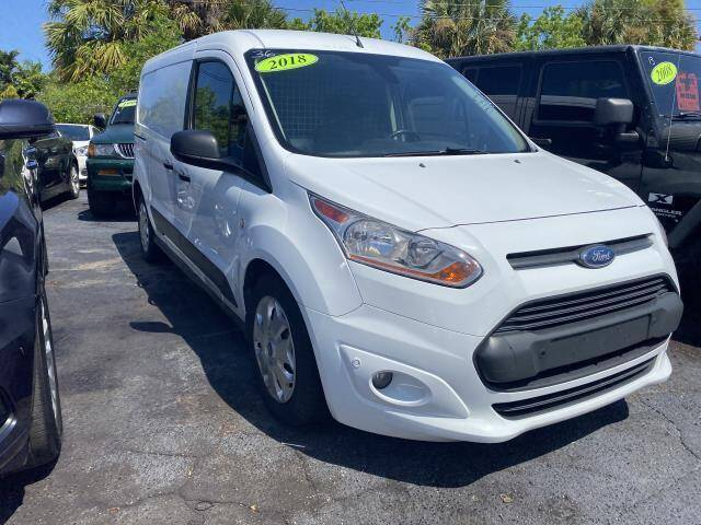 2018 Ford Transit Connect Cargo for sale at Mike Auto Sales in West Palm Beach FL
