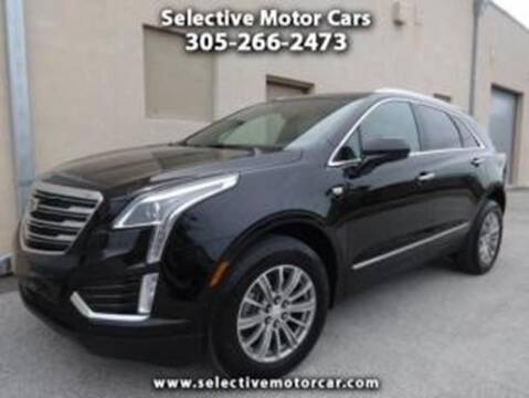 2017 Cadillac XT5 for sale at Selective Motor Cars in Miami FL