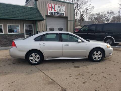 2010 Chevrolet Impala for sale at H & L AUTO SALES LLC in Wyoming MI