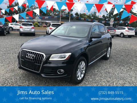 2013 Audi Q5 for sale at Jims Auto Sales in Lakehurst NJ