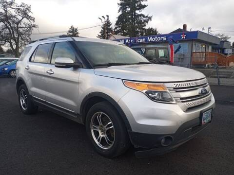2011 Ford Explorer for sale at All American Motors in Tacoma WA