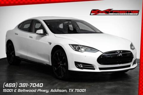 2014 Tesla Model S for sale at EXTREME SPORTCARS INC in Carrollton TX