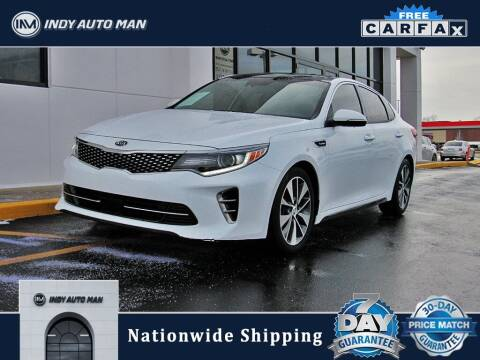2016 Kia Optima for sale at INDY AUTO MAN in Indianapolis IN