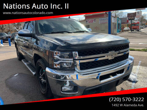 2012 Chevrolet Silverado 1500 for sale at Nations Auto Inc. II in Denver CO