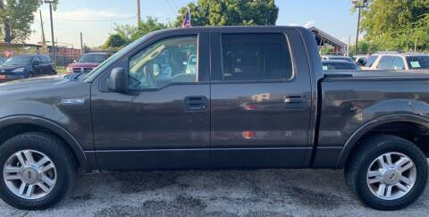 2005 Ford F-150 for sale at FAIR DEAL AUTO SALES INC in Houston TX