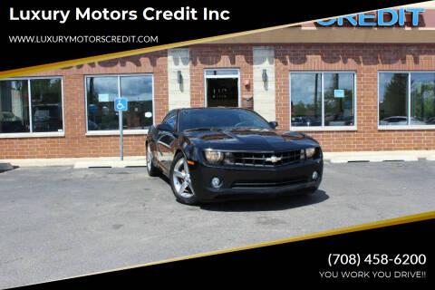 2011 Chevrolet Camaro for sale at Luxury Motors Credit Inc in Bridgeview IL