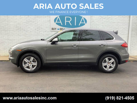 2014 Porsche Cayenne for sale at ARIA  AUTO  SALES in Raleigh NC