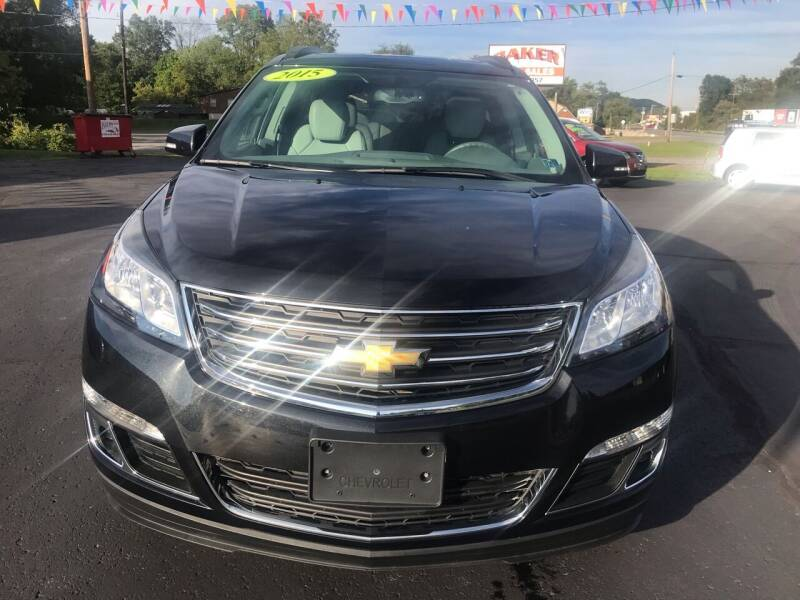 2015 Chevrolet Traverse for sale at Baker Auto Sales in Northumberland PA