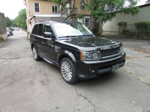 2011 Land Rover Range Rover Sport for sale at Nutmeg Auto Wholesalers Inc in East Hartford CT