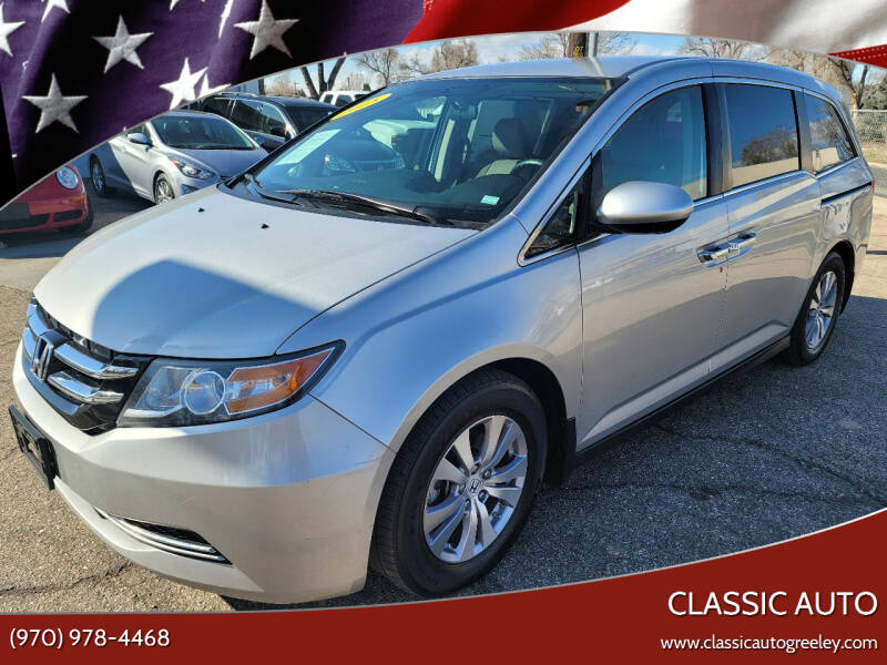 2015 Honda Odyssey for sale at Classic Auto in Greeley CO