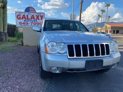2009 Jeep Grand Cherokee for sale at GALAXY MOTORS in Tucson AZ
