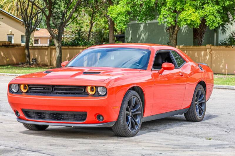 2018 Dodge Challenger for sale at Easy Deal Auto Brokers in Hollywood FL