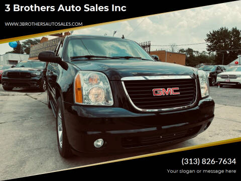 2014 GMC Yukon XL for sale at 3 Brothers Auto Sales Inc in Detroit MI
