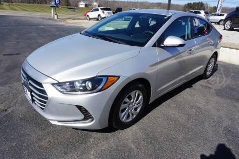 2017 Hyundai Elantra for sale at MyEzAutoBroker.com in Mount Vernon OH