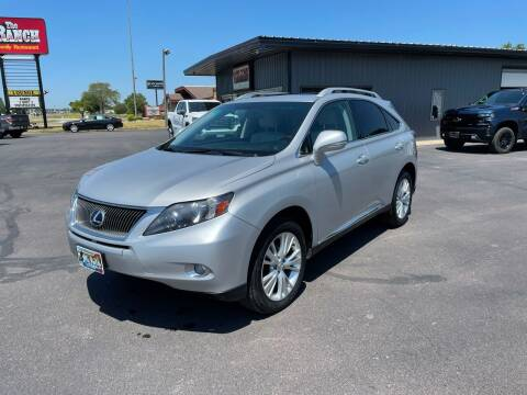 2010 Lexus RX 450h for sale at Welcome Motor Co in Fairmont MN