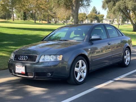 2004 Audi A4 for sale at SHOMAN MOTORS in Davis CA