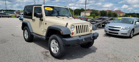 2011 Jeep Wrangler for sale at Kelly & Kelly Supermarket of Cars in Fayetteville NC