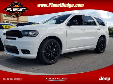 2020 Dodge Durango for sale at PLANET DODGE CHRYSLER JEEP in Miami FL