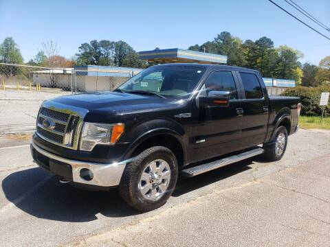 2012 Ford F-150 for sale at GEORGIA AUTO DEALER, LLC in Buford GA