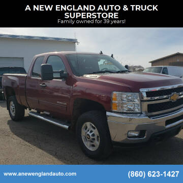 2013 Chevrolet Silverado 2500HD for sale at A NEW ENGLAND AUTO & TRUCK SUPERSTORE in East Windsor CT