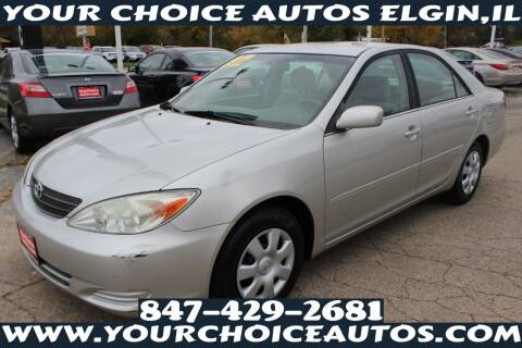 2002 Toyota Camry for sale at Your Choice Autos - Elgin in Elgin IL