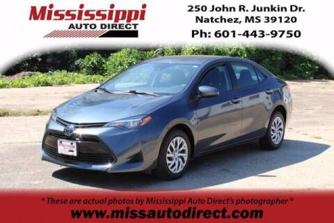 2019 Toyota Corolla for sale at Auto Group South - Mississippi Auto Direct in Natchez MS
