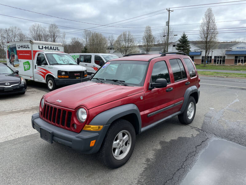 2007 Jeep Liberty for sale at Candlewood Valley Motors in New Milford CT