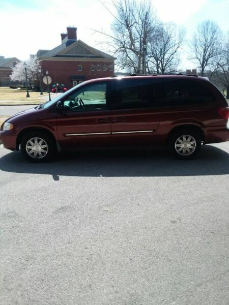 2007 Chrysler Town and Country for sale at DALE GREEN MOTORS in Mountain Home AR