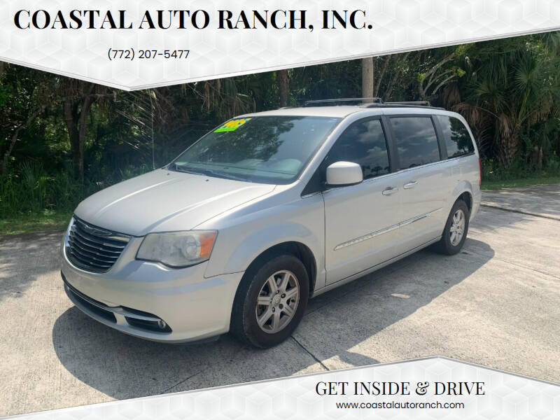 2012 Chrysler Town and Country for sale at Coastal Auto Ranch, Inc. in Port Saint Lucie FL