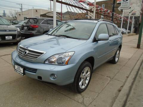 2008 Lexus RX 400h for sale at CAR CENTER INC in Chicago IL